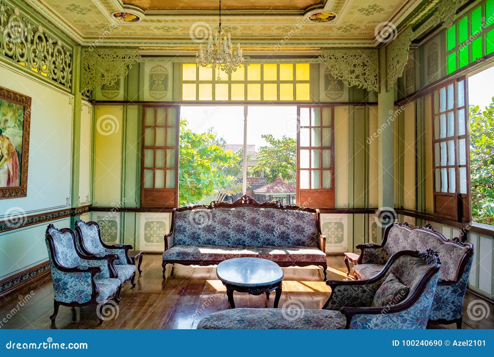 Spanish Era Interior Design Editorial Image Image Of Empty