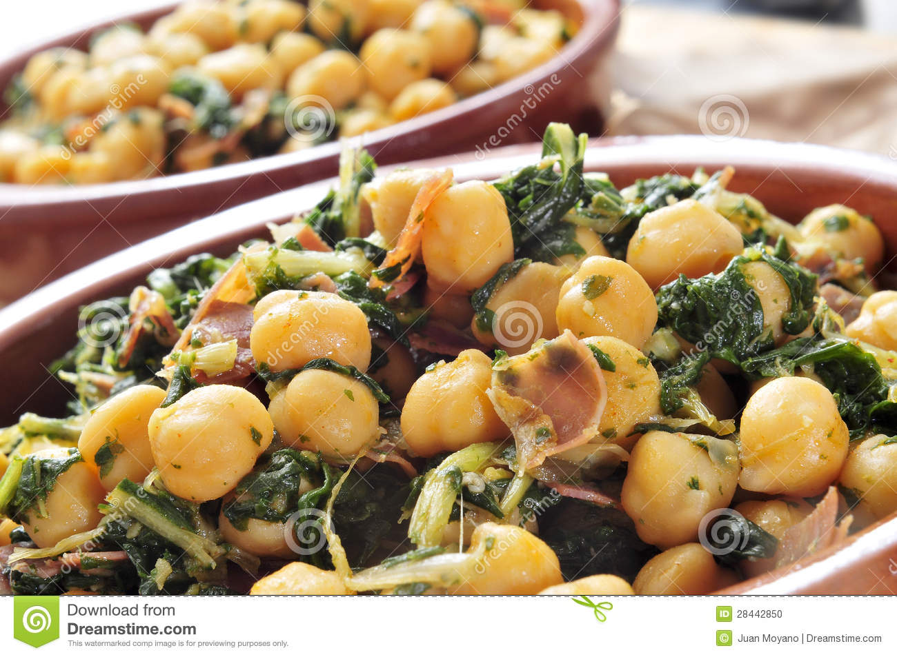 Spicy Sauteed Chickpeas (Garbanzo Beans) Recipe With Beef And Cilantro ...