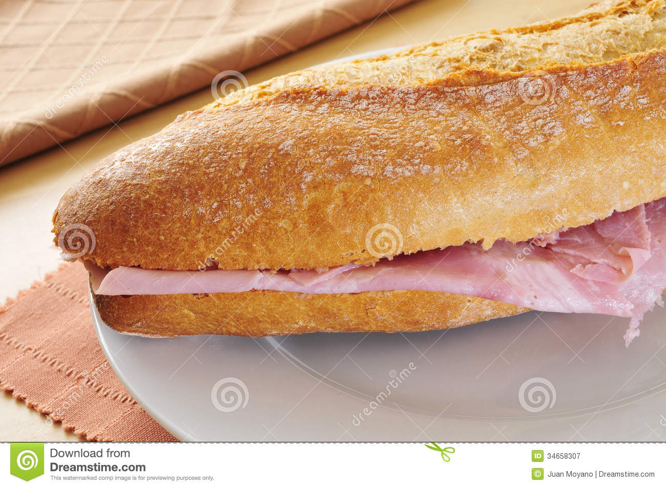 How to make a ham sandwich, in Spanish! - YouTube
