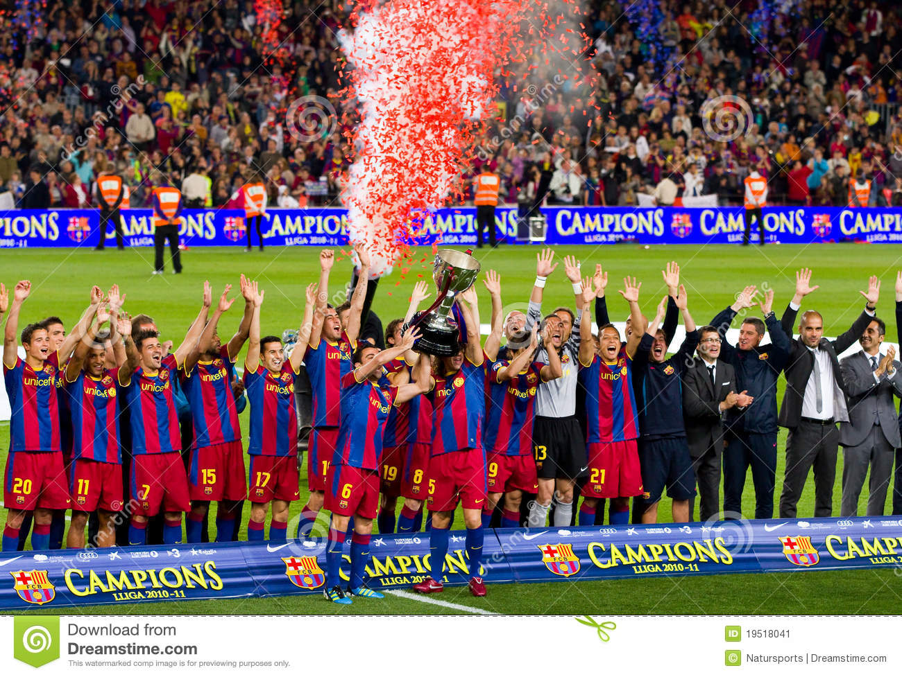 spanish league champions