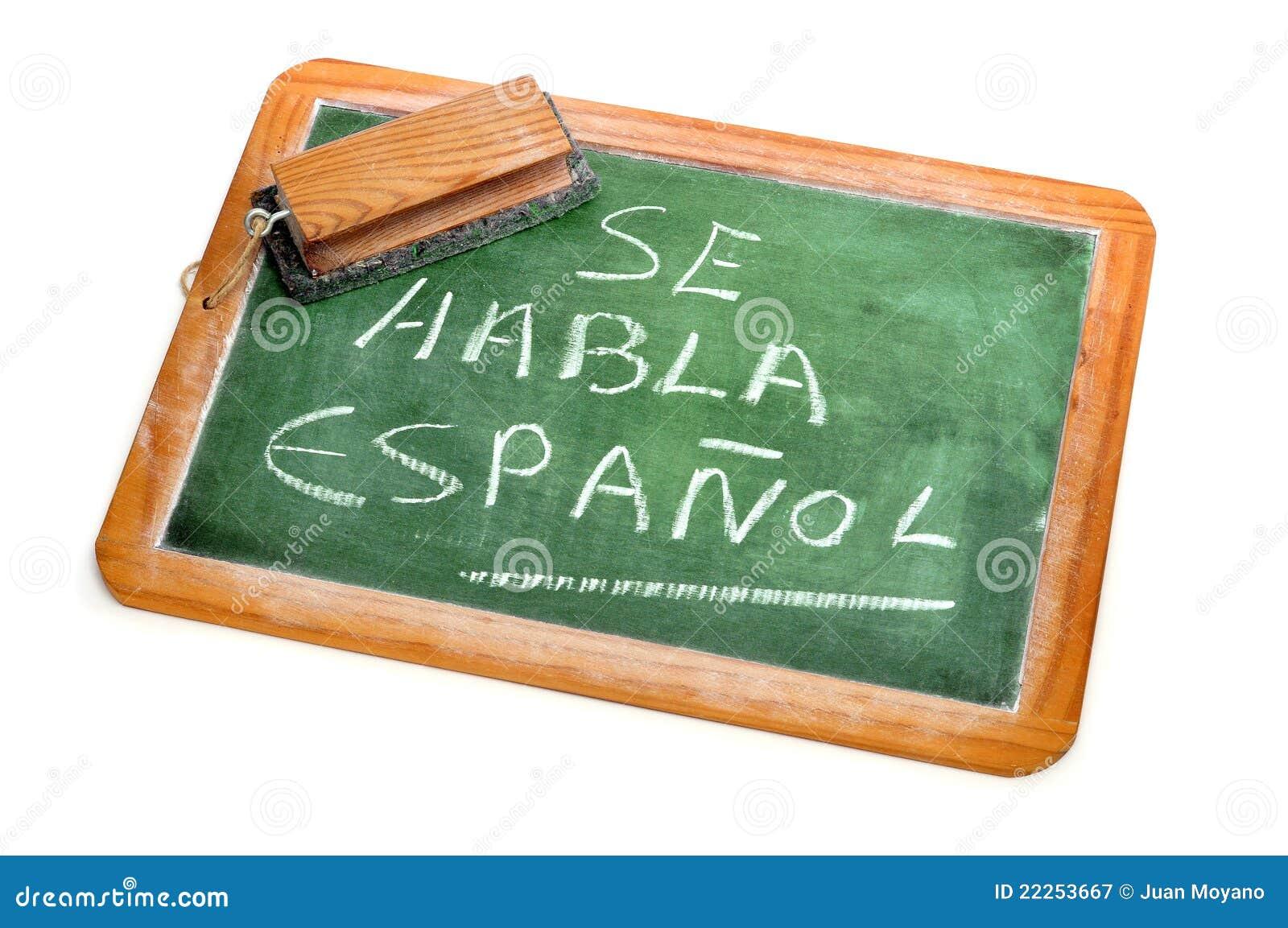 Spanish mówjący