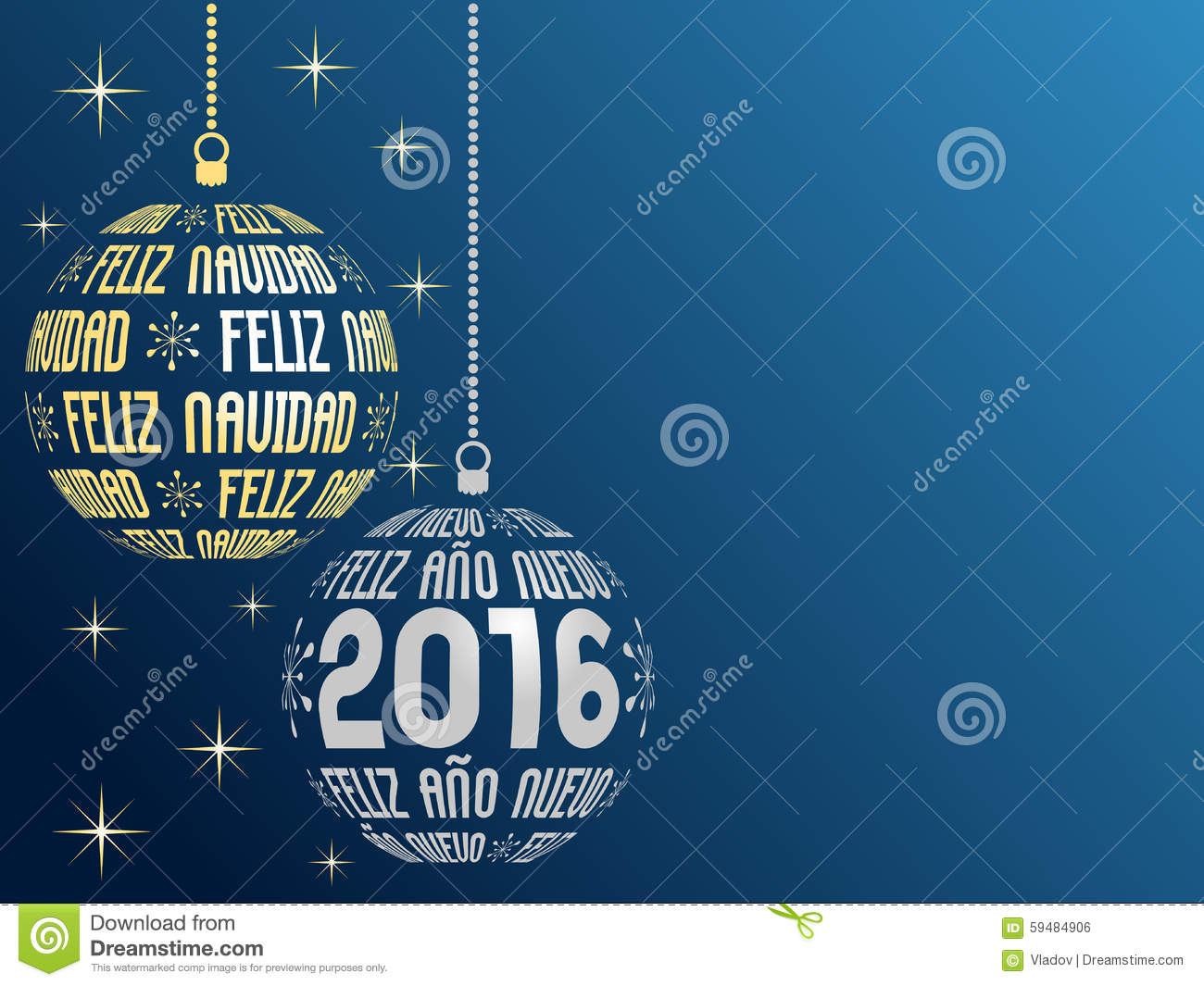 spanish merry christmas and happy new year 2016 background - Merry Christmas And Happy New Year In Spanish