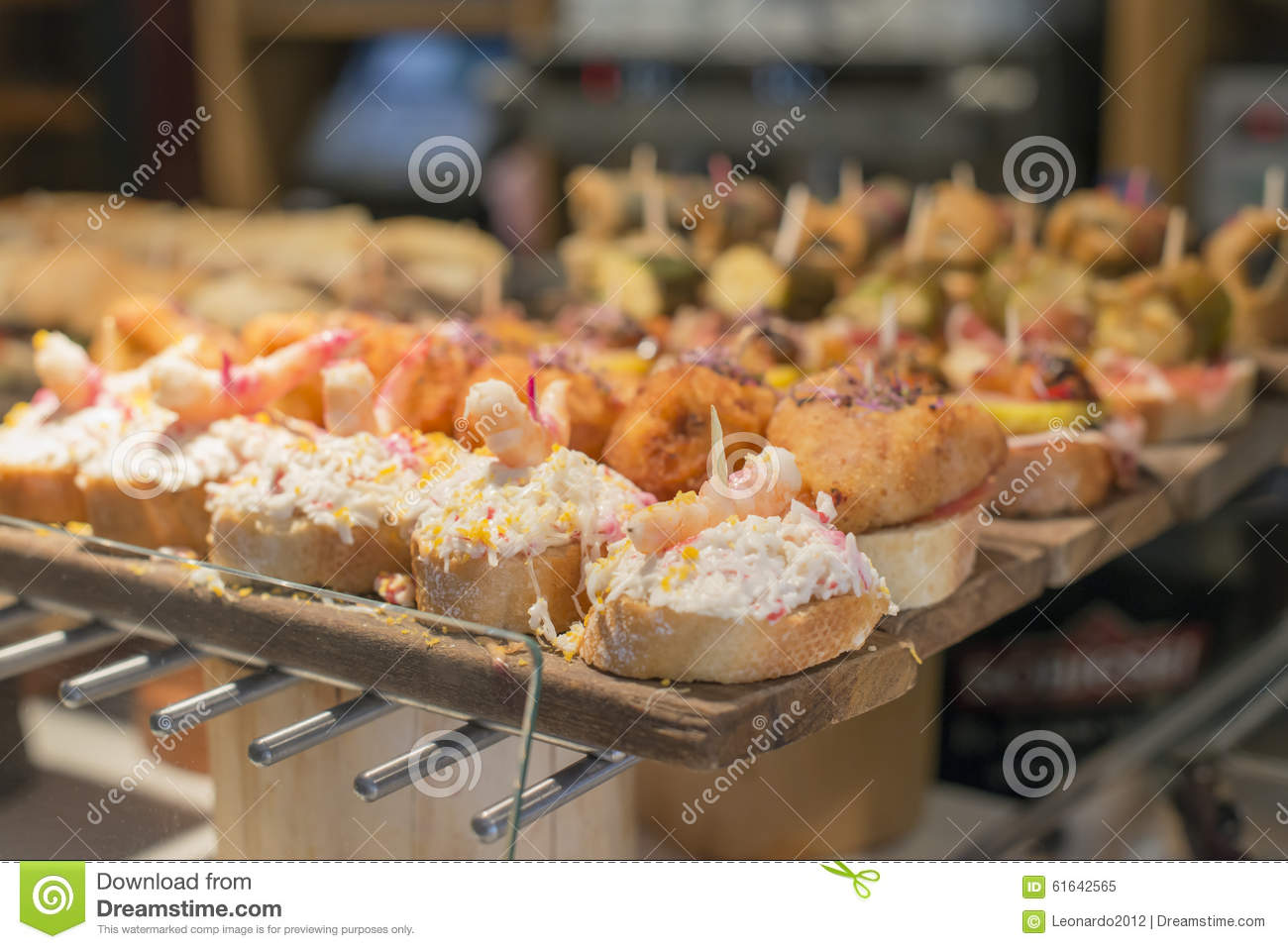 spanish mixed tapas basque cuisine pintxos bilbao spain stock image image of food cusine. Black Bedroom Furniture Sets. Home Design Ideas