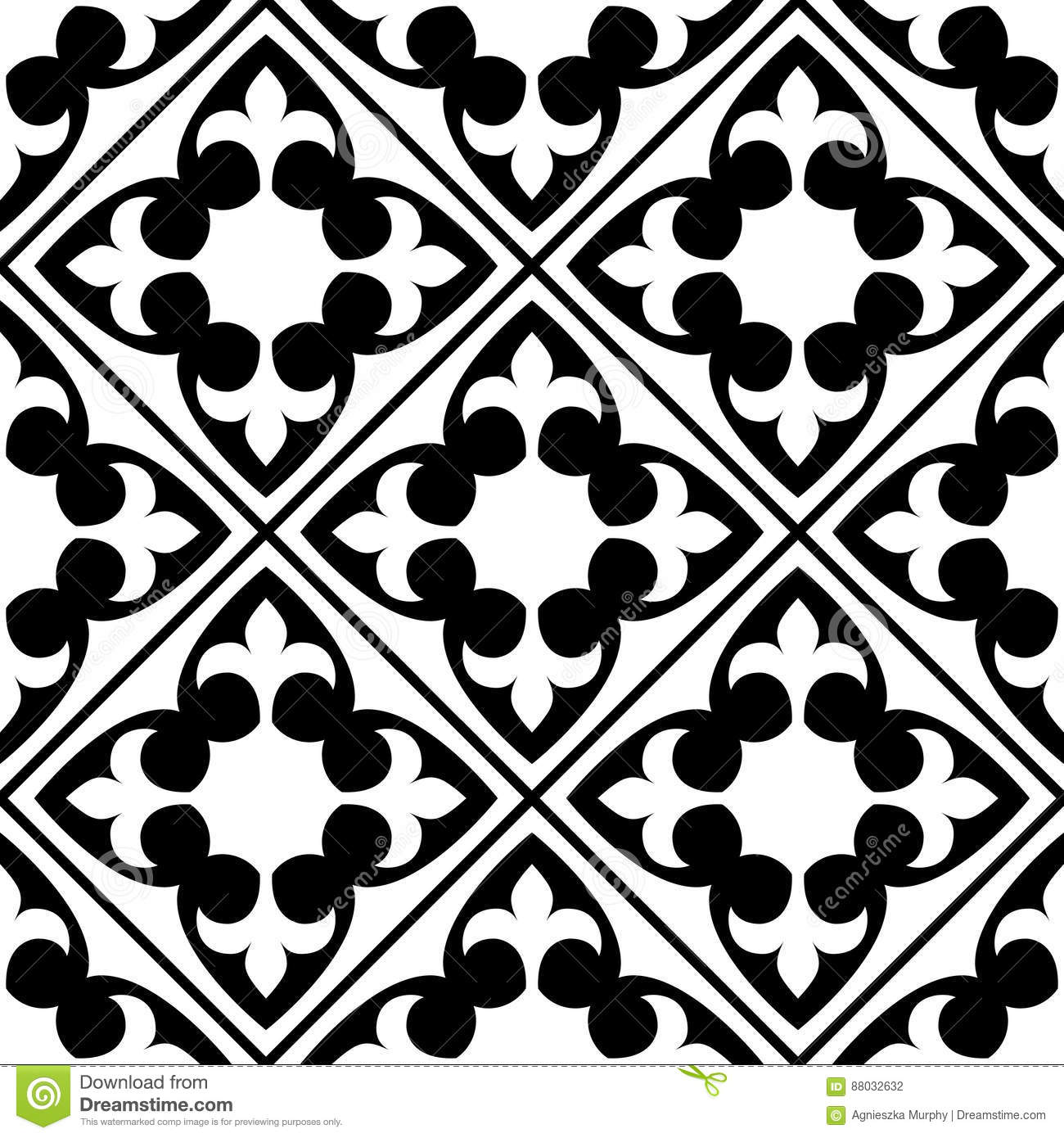 Spanish And Portuguese Tile Pattern Moroccan Tiles Design