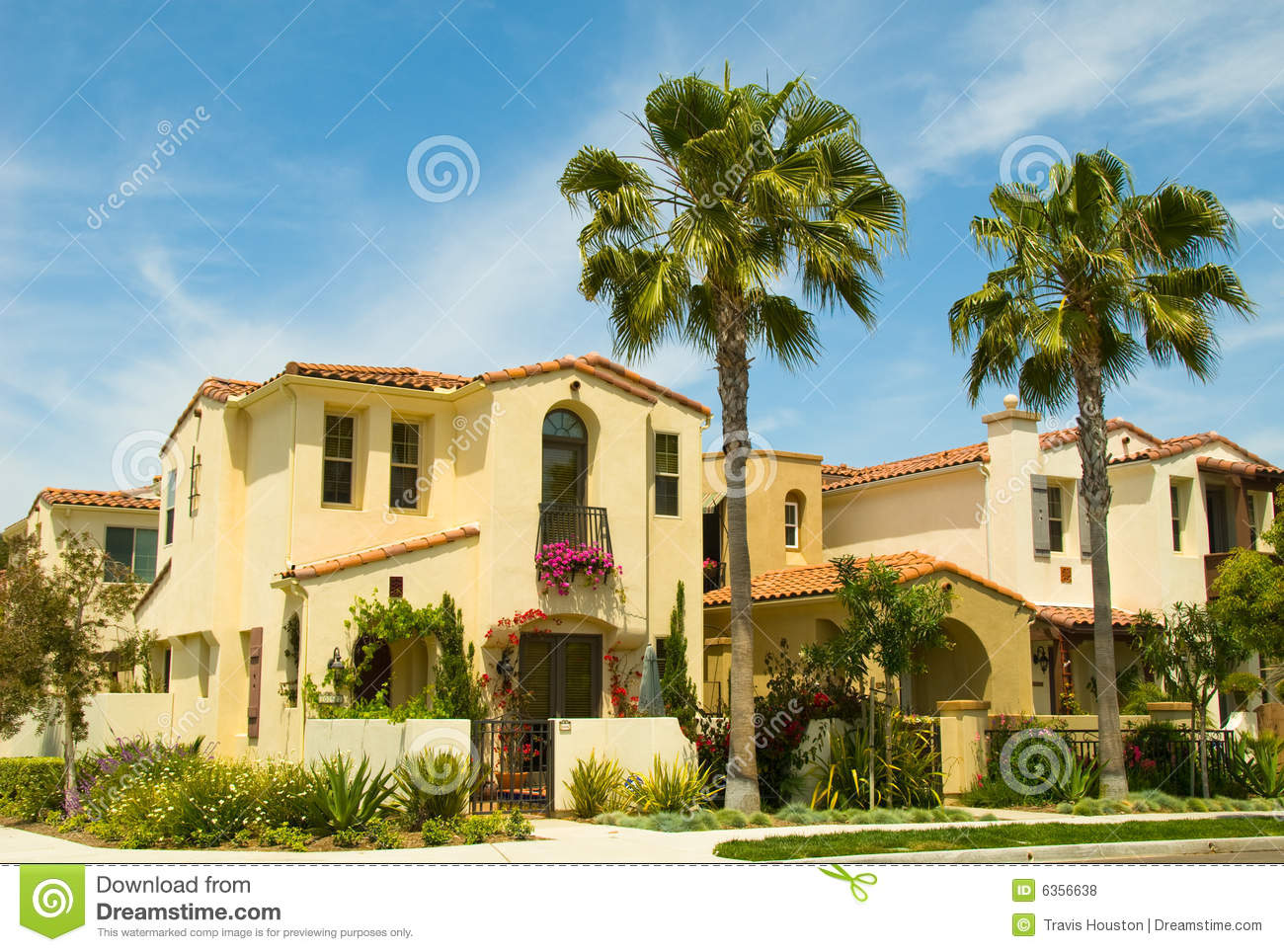 Spanish style houses in a master planned community royalty for Spanish style homes for sale