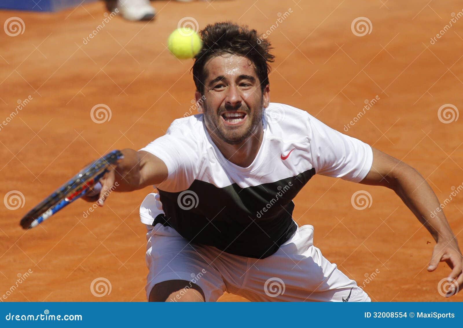 Spanish tennis player Marc Lopez