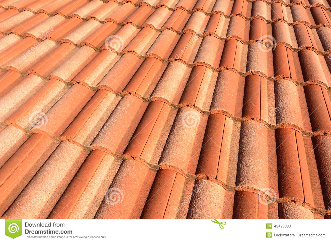 Spanish tile roof stock photo image 43496383 for Spanish style roof tiles