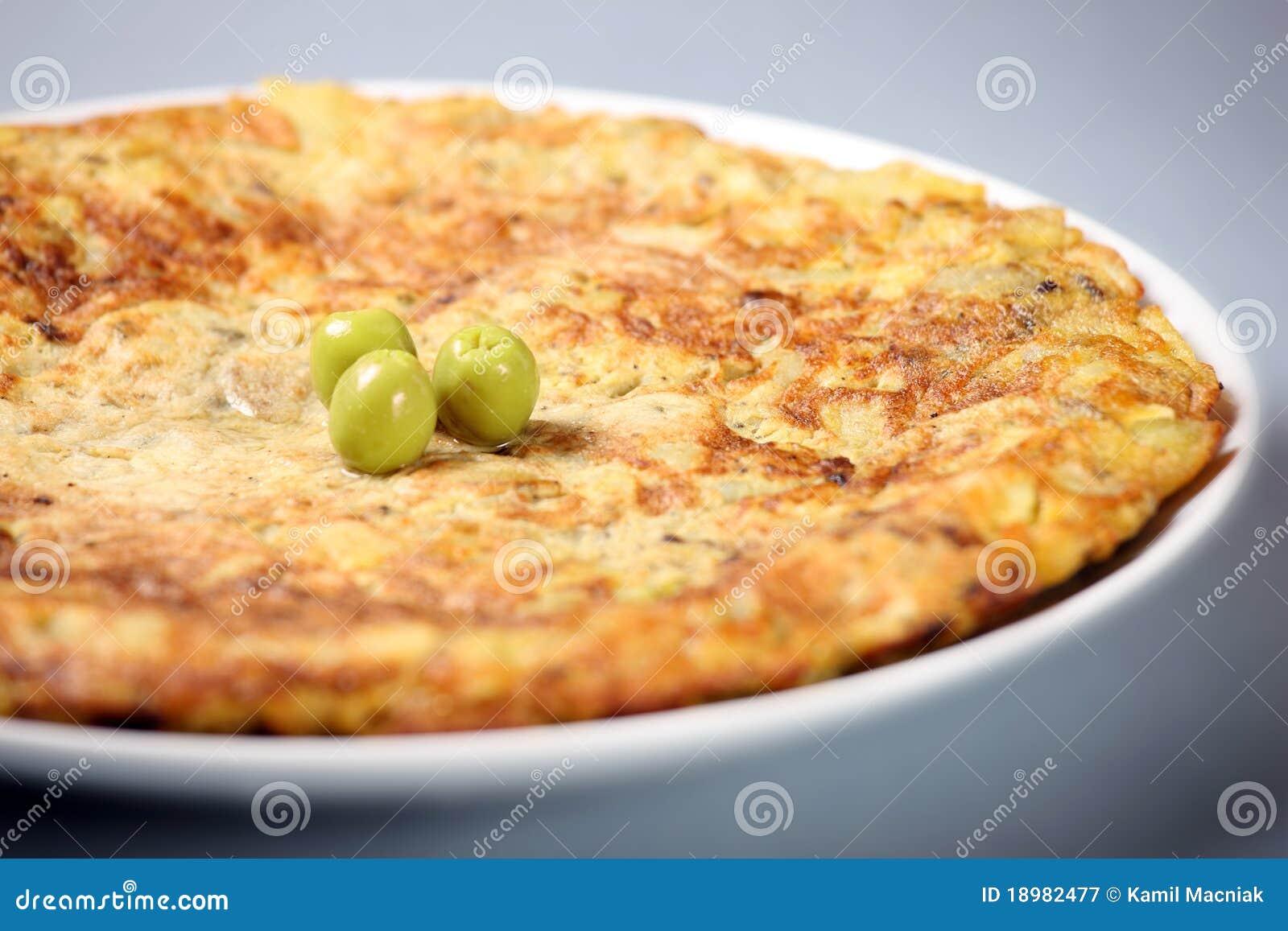 Spanish Tortilla Royalty Free Stock Photography - Image: 18982477