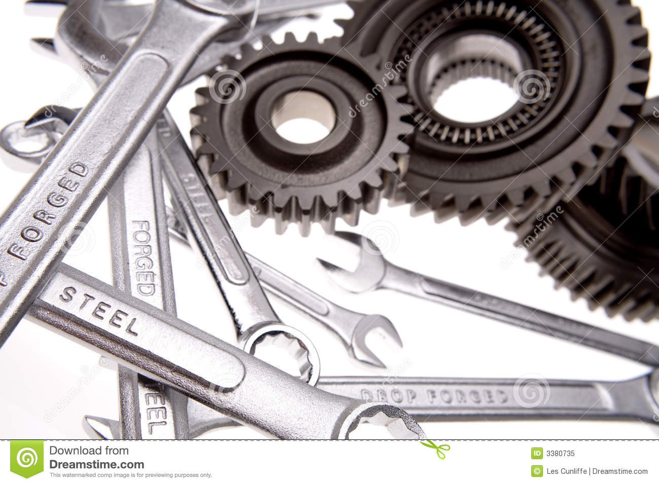Spanners & cogs