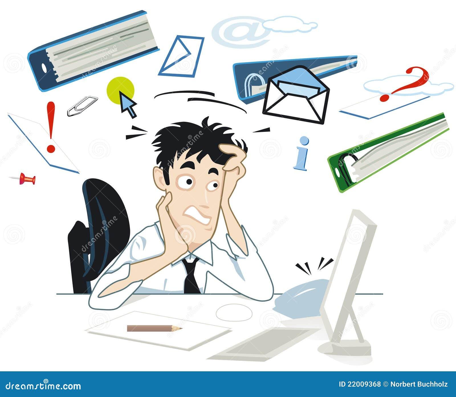 Spanning bij uw bureau