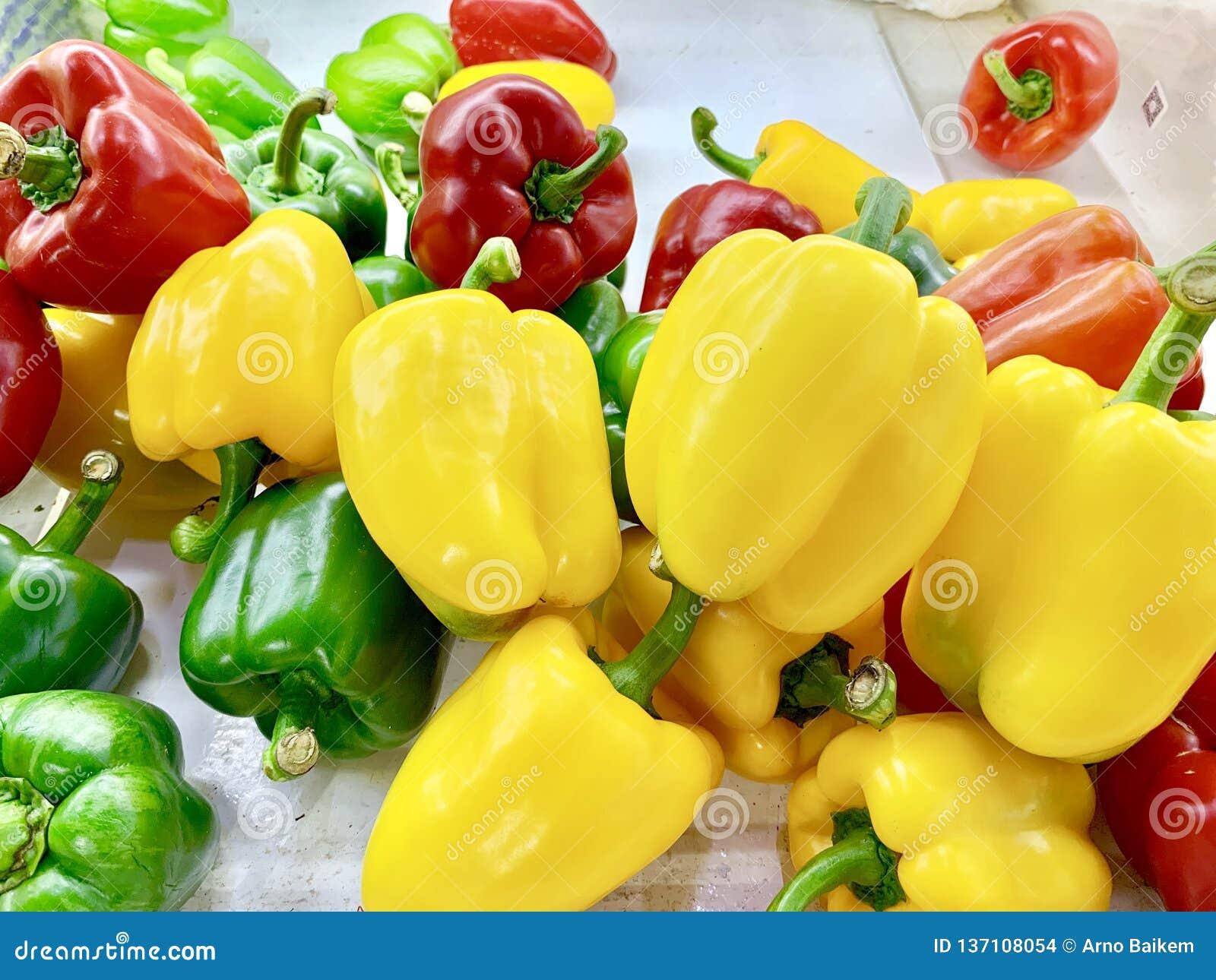 Spansk peppar eller söt peppar