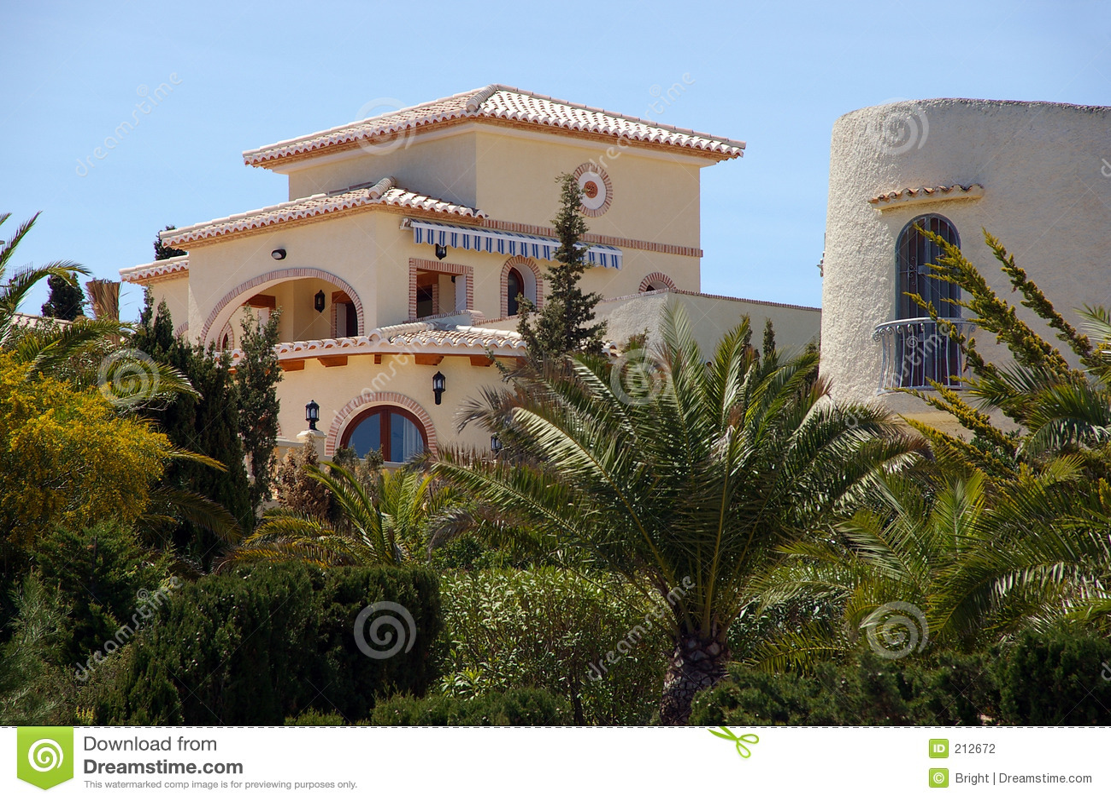Spansk villa