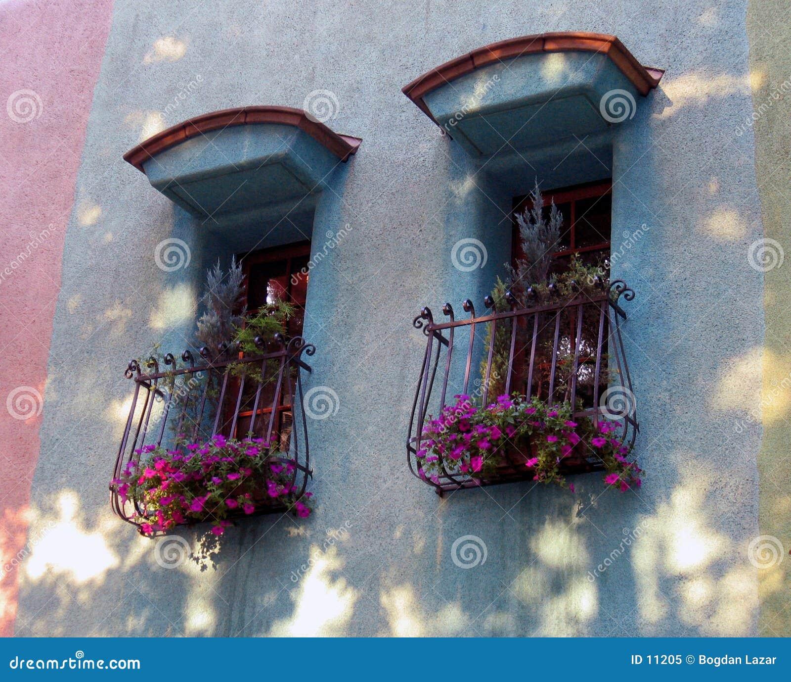 Spanska stilfönster