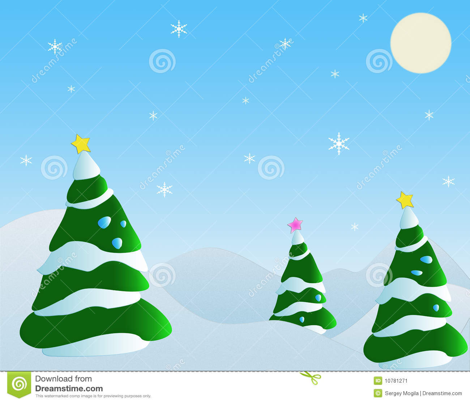 Spar en sneeuwvlok