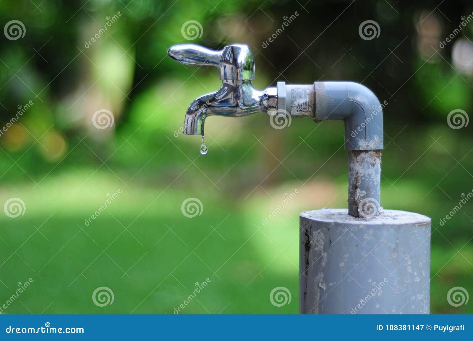 Spara en droppe av vatten