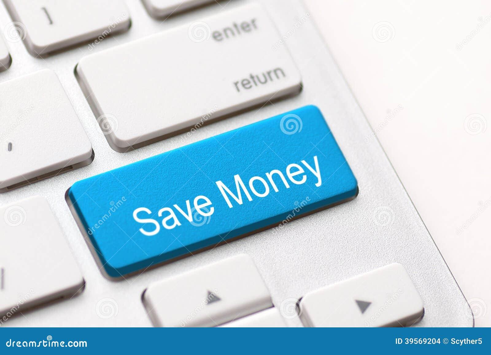 Spara pengarknapptangenten