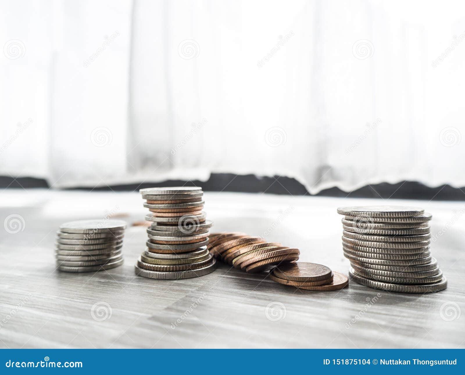 Sparande pengar f?r den framtida investeringen
