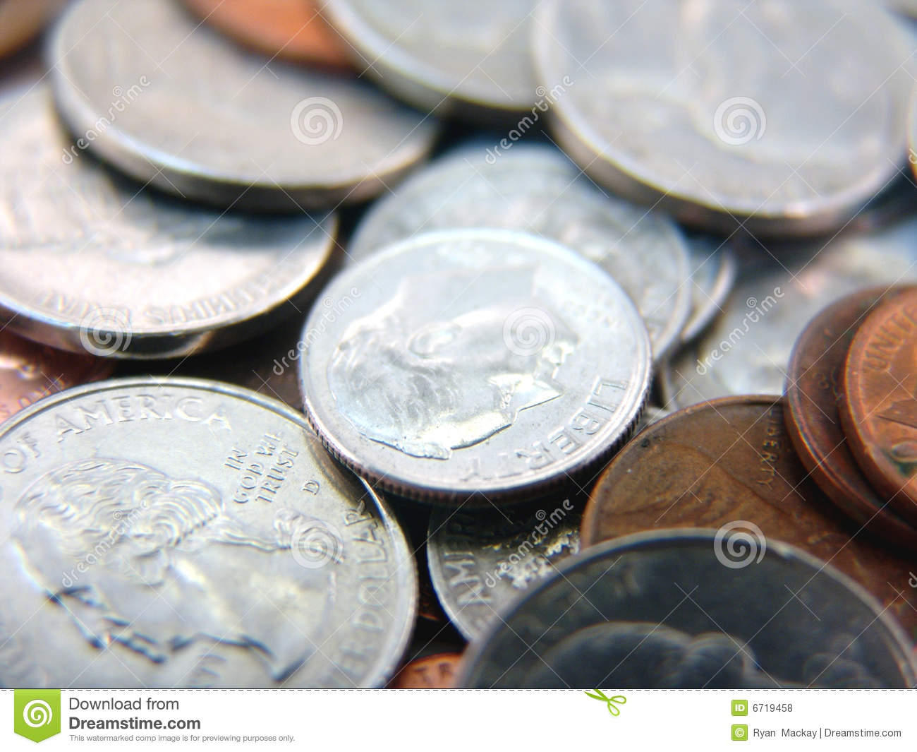 Cost U Less >> Spare Change Royalty Free Stock Photos - Image: 6719458