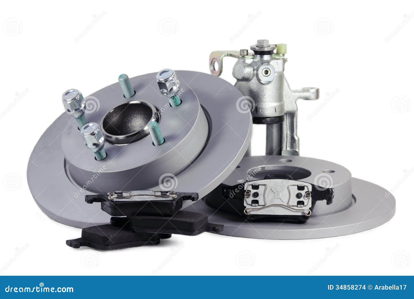 spare parts for car brake mechanism stock photo image 34858274. Black Bedroom Furniture Sets. Home Design Ideas