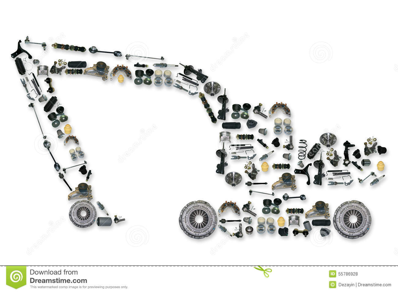 Where to buy spare parts for truck 81