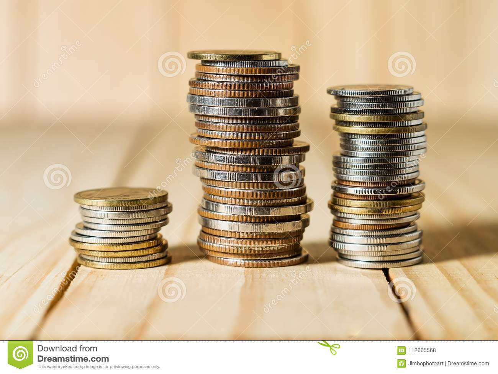 Sparen geld en rekeningsbankwezen voor financiën bedrijfsconcept