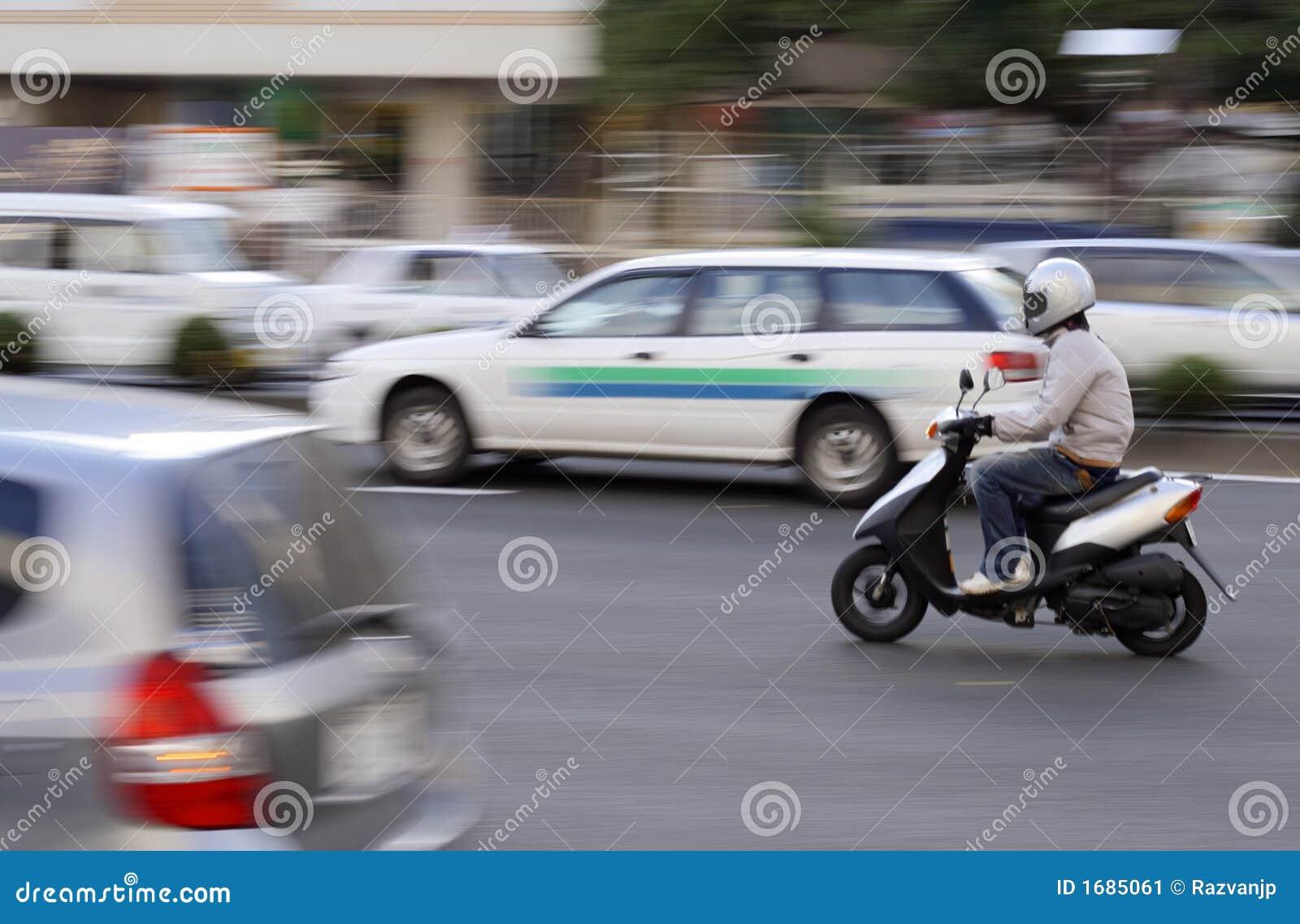 Sparkcykeltrafik