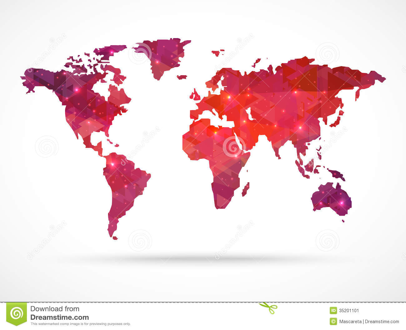 Sparkle diamond vector world map stock vector illustration of sparkle diamond vector world map stock image gumiabroncs Image collections