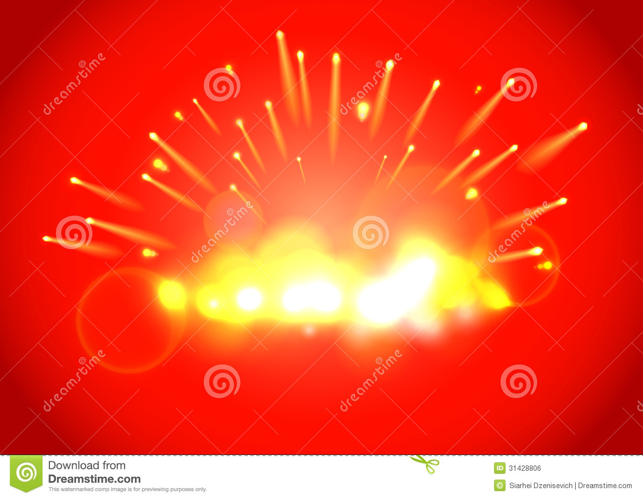 Sparkling Background For Advertising Royalty Free Stock Image - Image ...