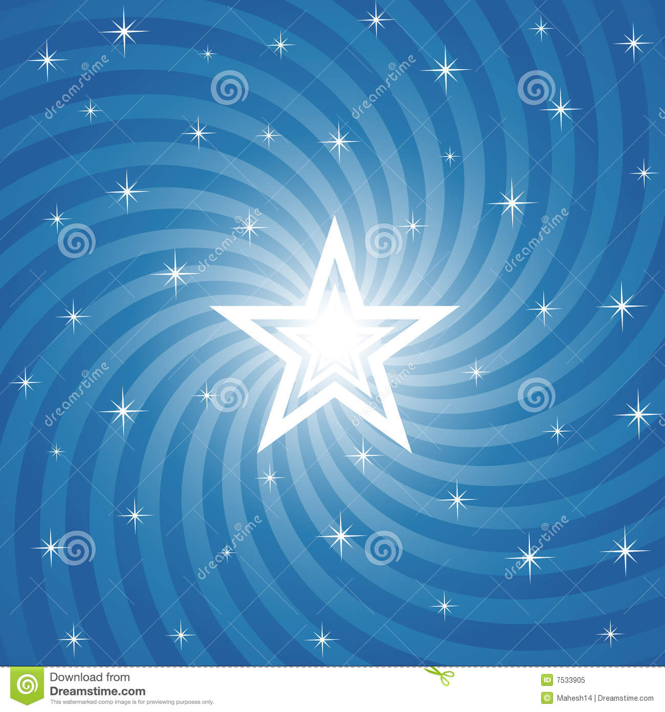 ... Bright Star Background Royalty Free Stock Photo - Image: 7533905