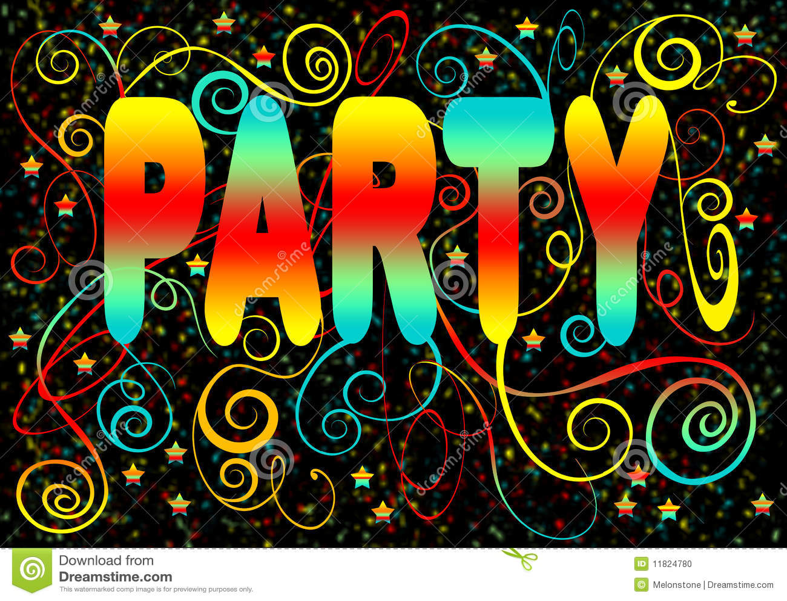 sparkling party invitation stock illustration illustration of
