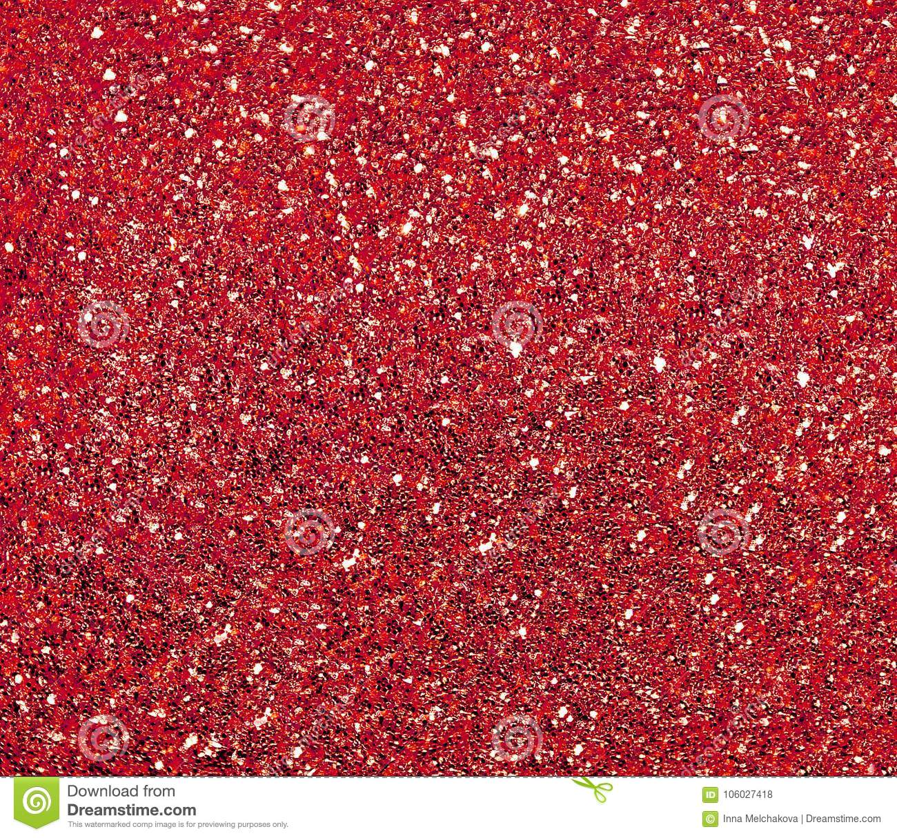 Sparkling red background with large sequins