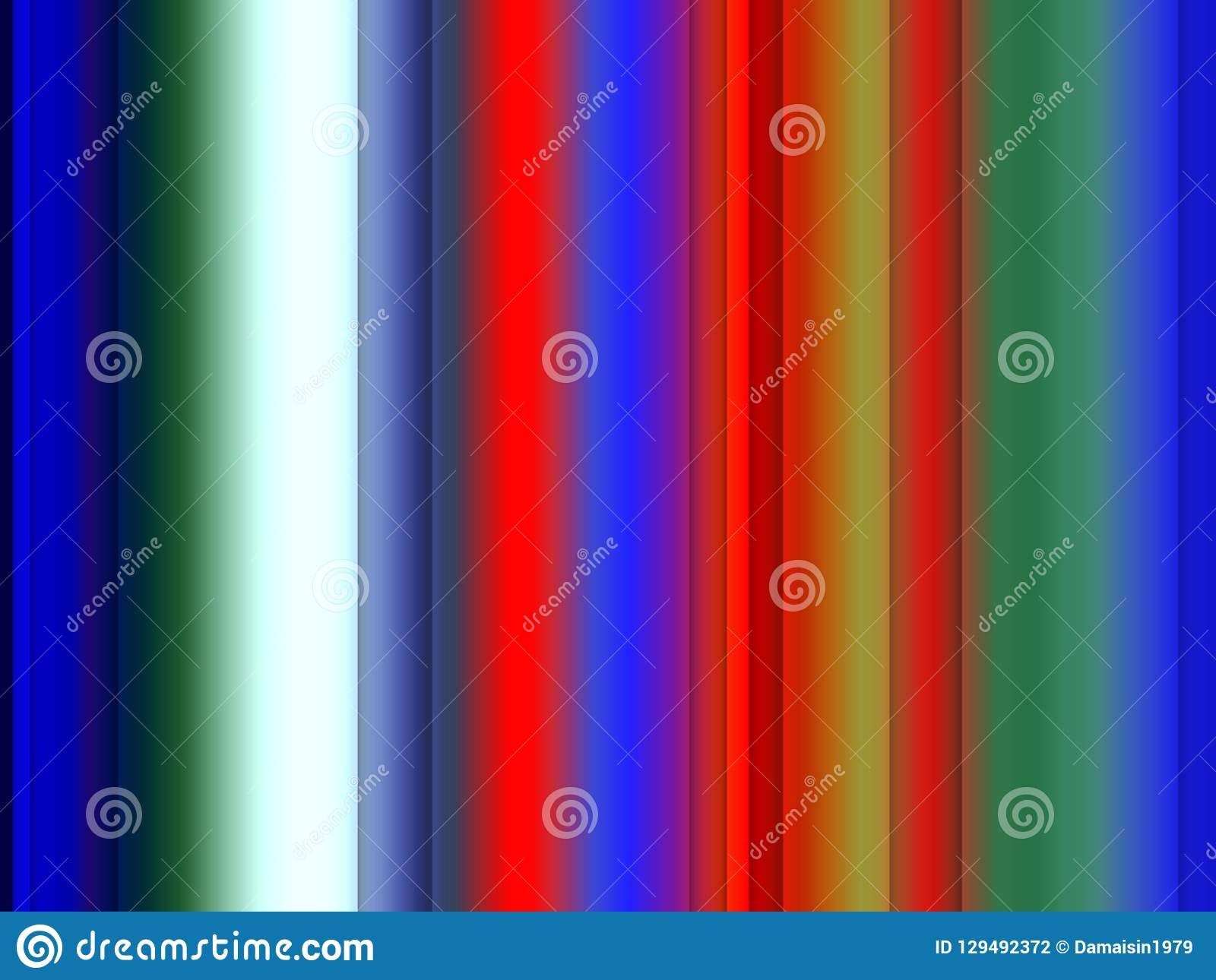 Sparkling Red Blu Green Lines Background Graphics Abstract