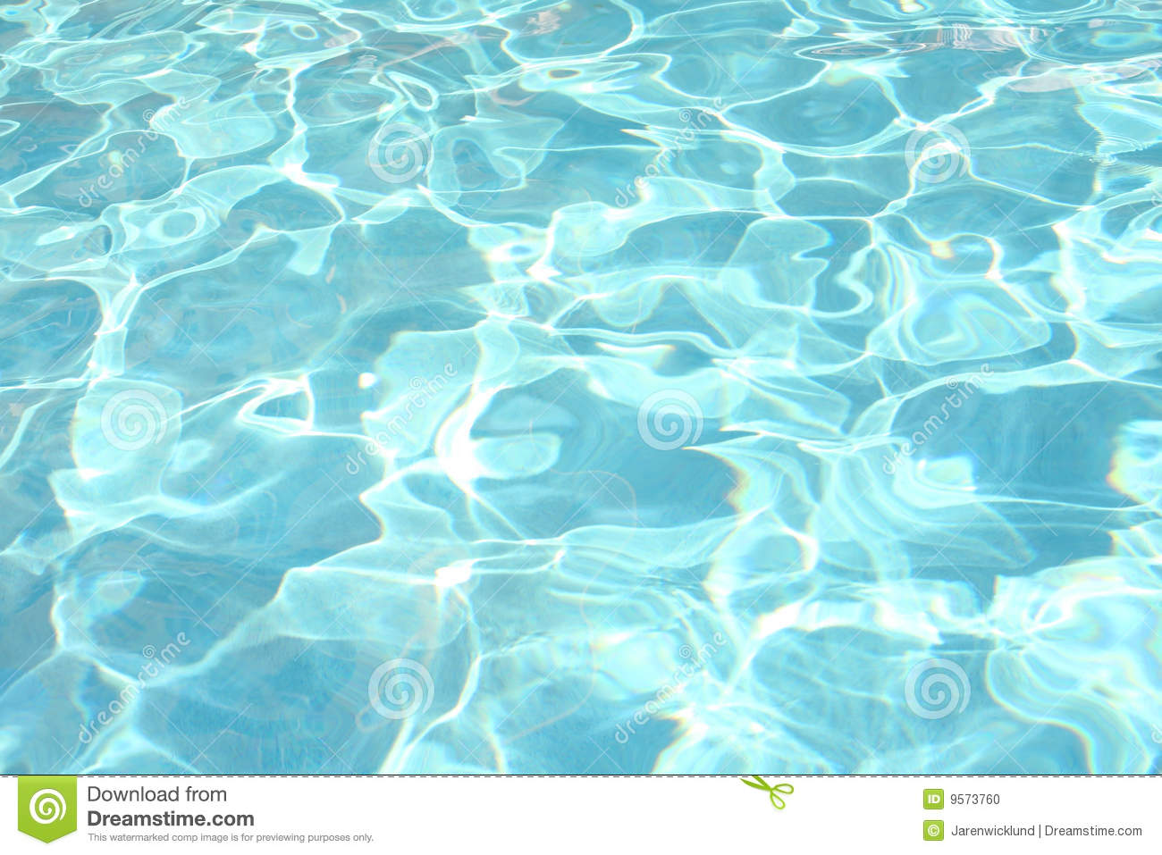 Sparkling Water In Swimming Pool Stock Photo Image 9573760