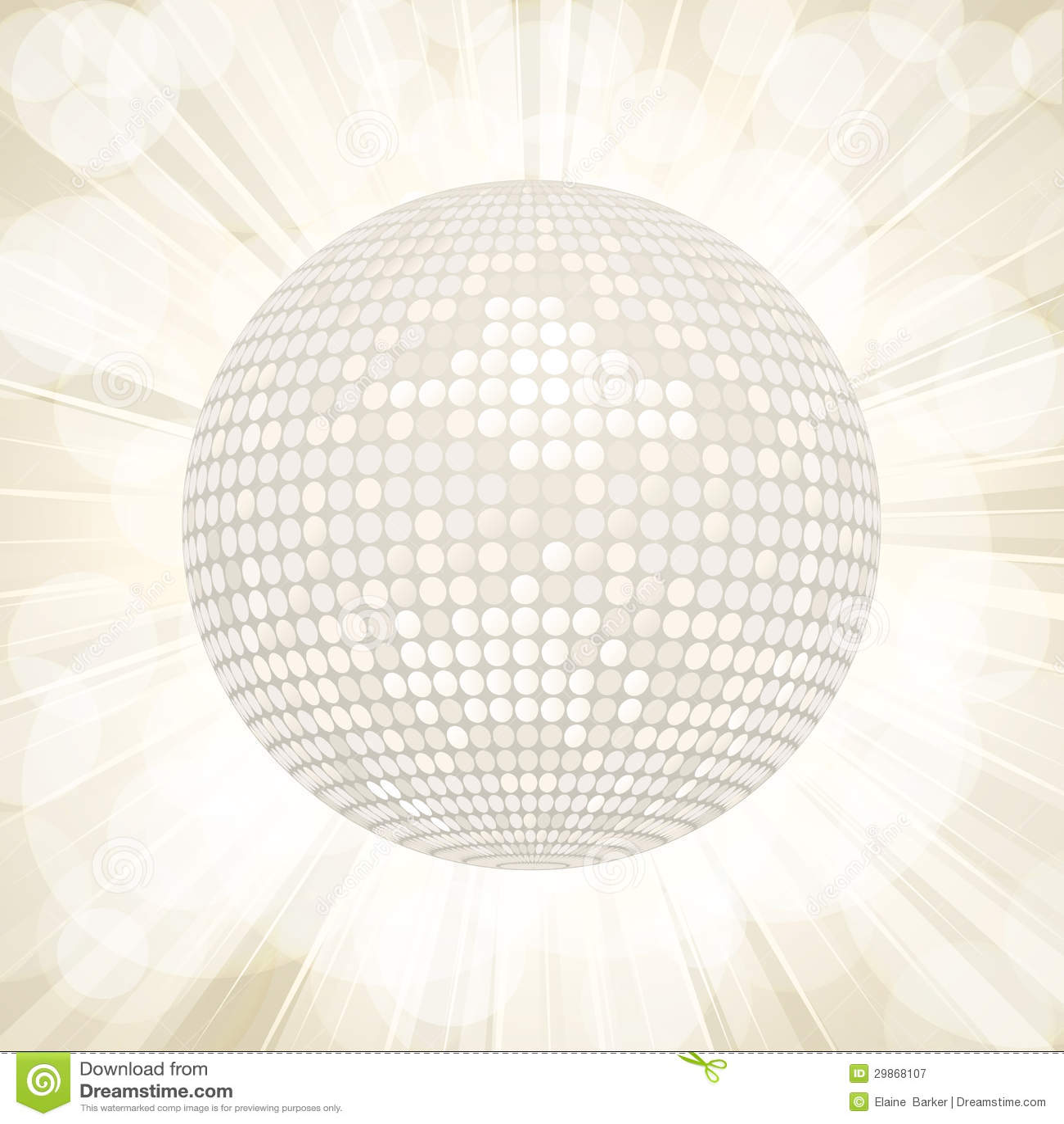 disco ball background white -#main