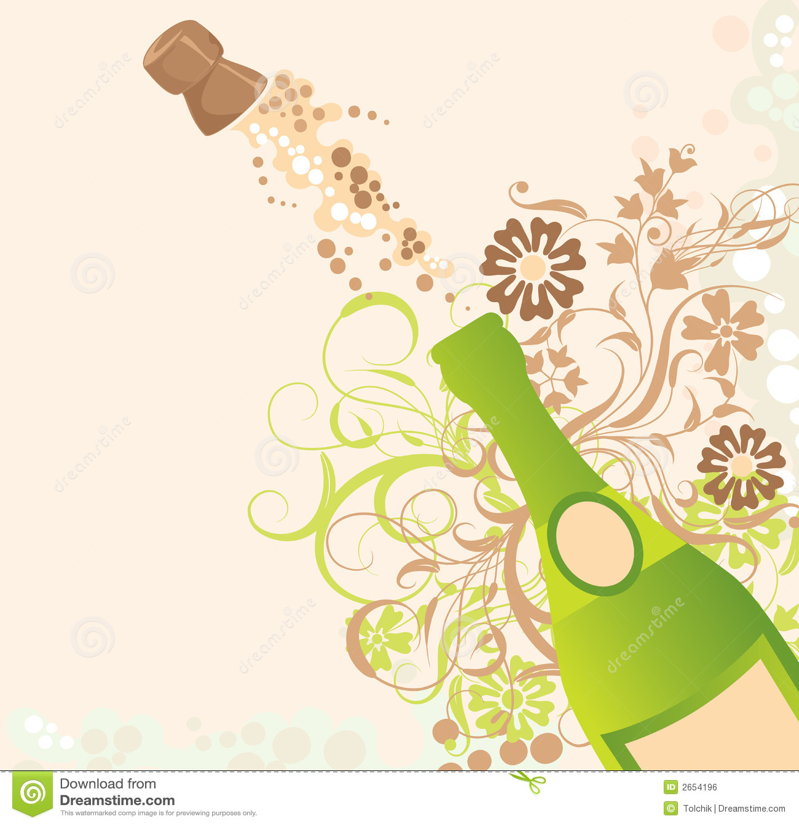 sparks of a champagne vector stock vector illustration 2654196. Black Bedroom Furniture Sets. Home Design Ideas