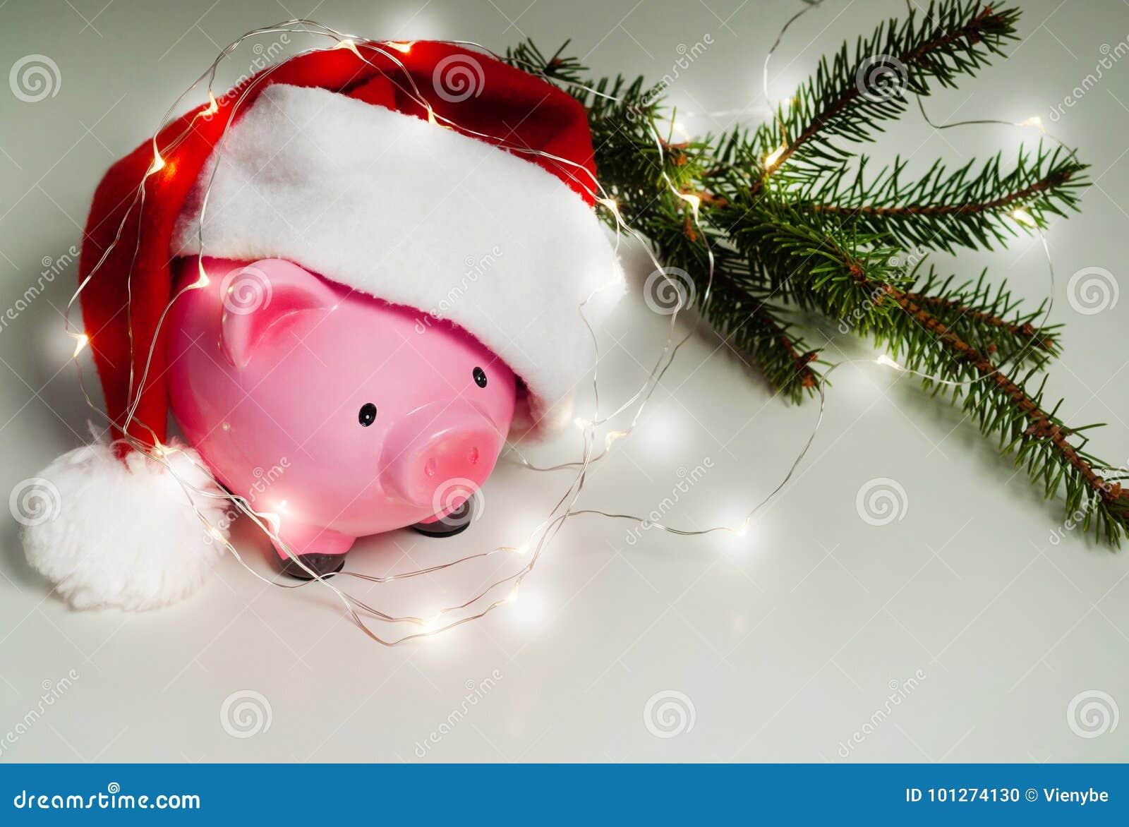 Sparschwein-Weihnachten für Ihre großen Kaufgeschenke