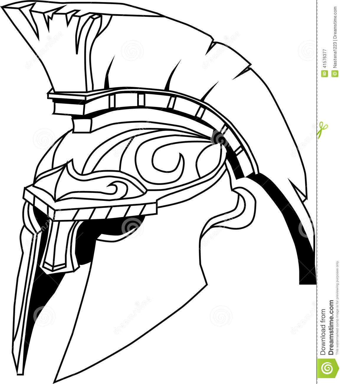 Spartan warrior helmet drawing the for Spartan mask template