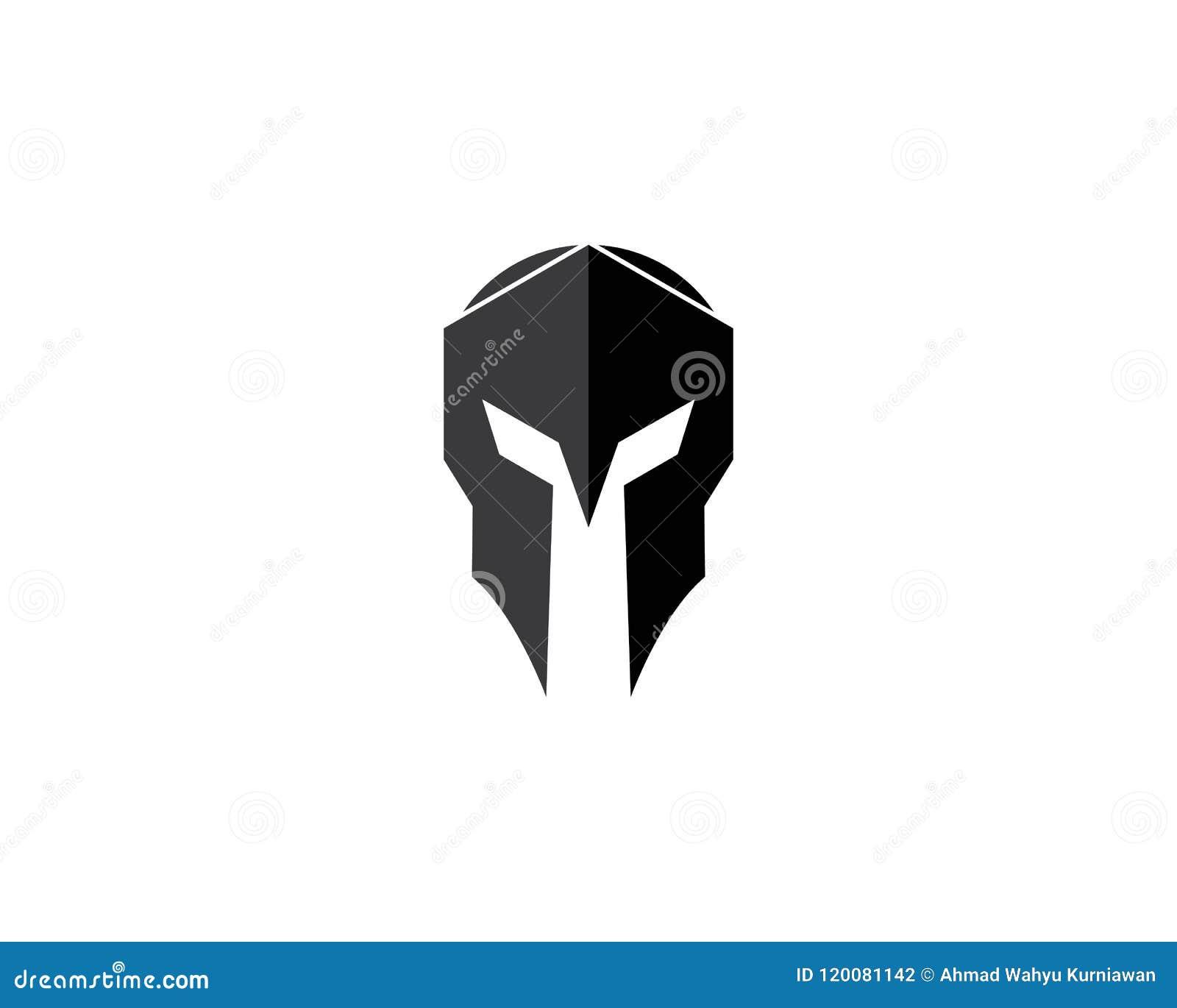 Spartan Helmet Stock Vector Illustration Of Protection 120081142