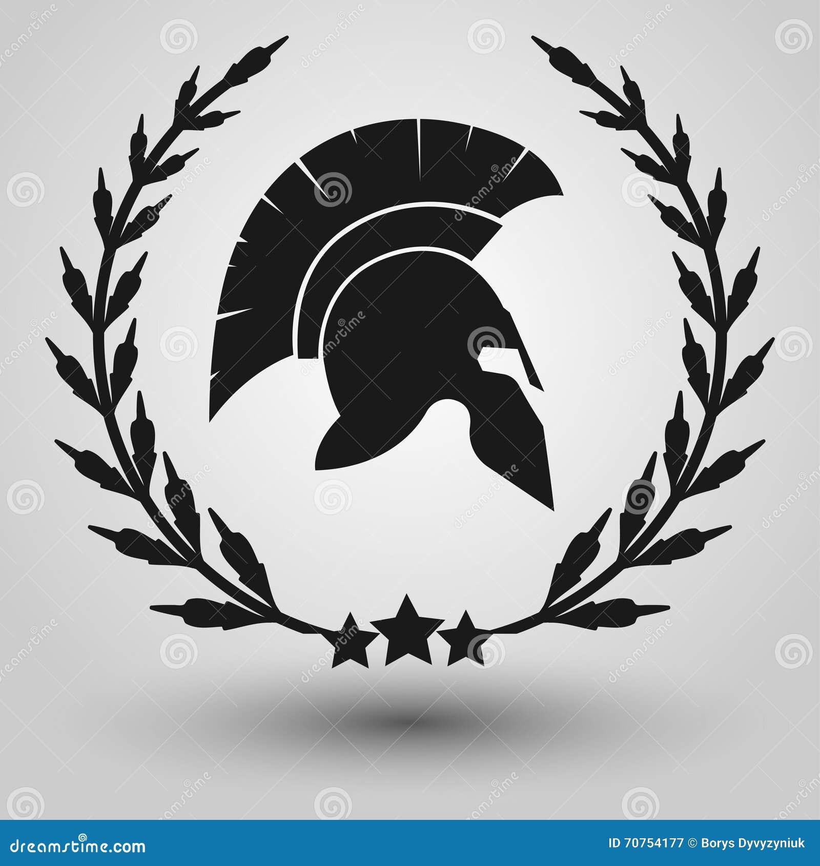 Spartan helmet silhouette stock illustration illustration of spartan helmet silhouette biocorpaavc Gallery
