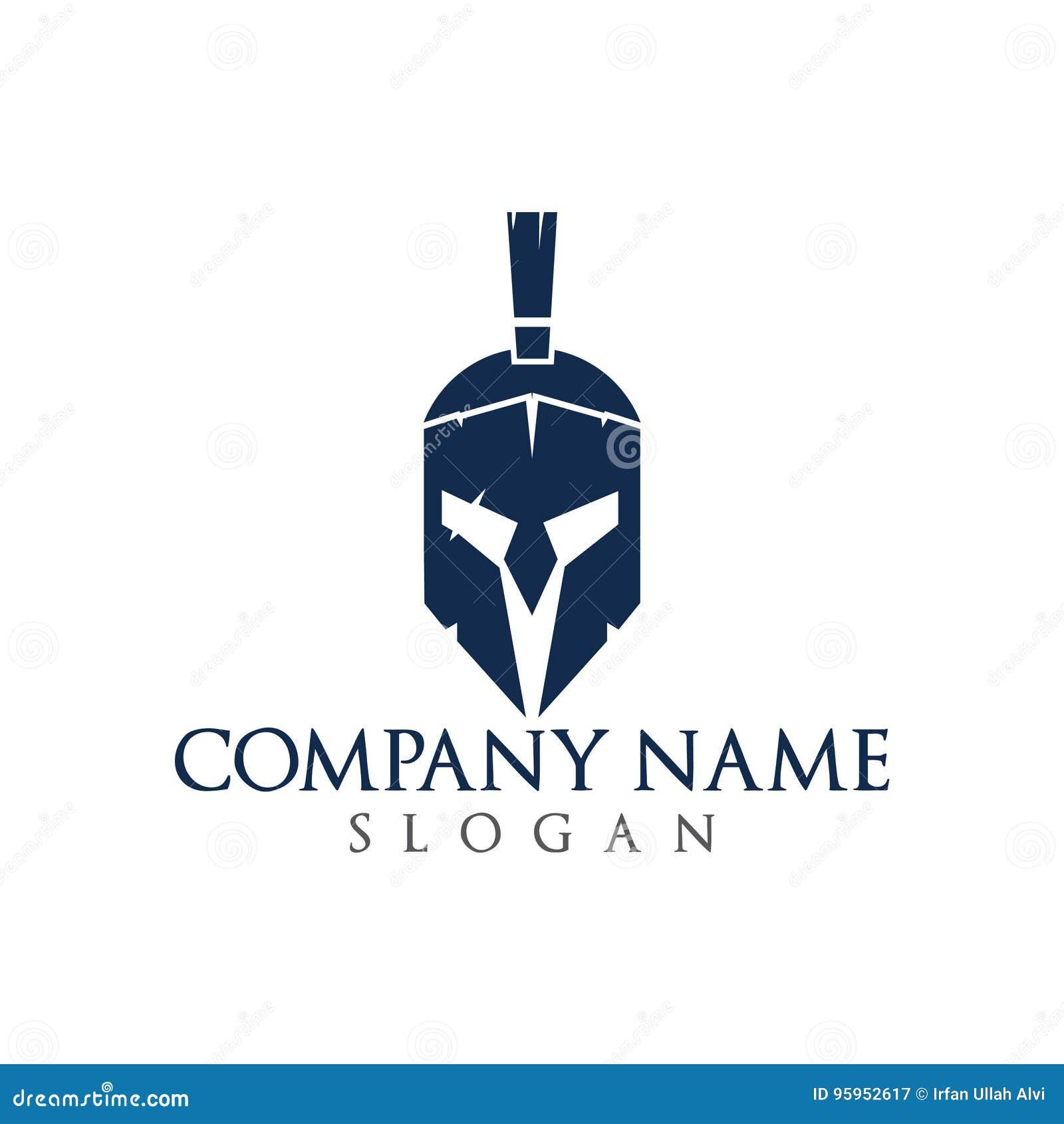 5c956e4ad6769 Spartan Logo. Helmet Of Warrior Logo Vector. Stock Vector ...
