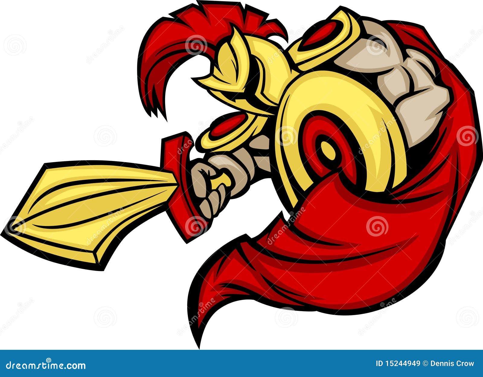 Spartan / Trojan Mascot Logo Royalty Free Stock Images ...