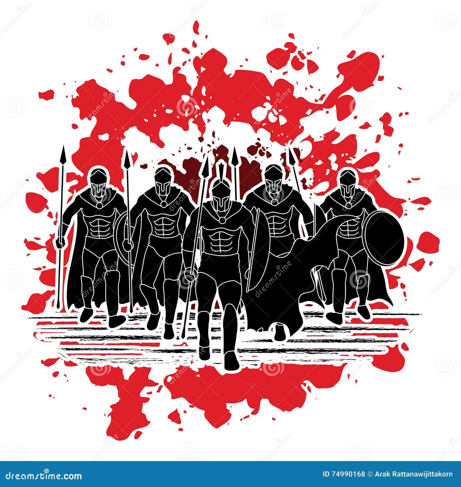 Warriors New Stadium Seat License: Spartan Warrior Stock Vector. Illustration Of Mythology