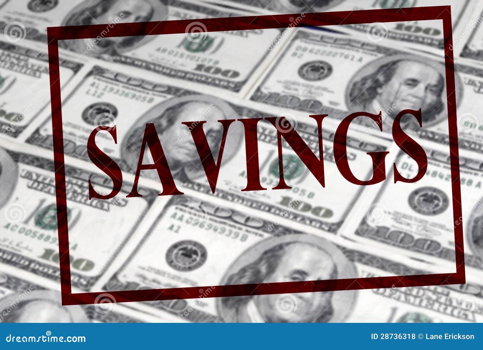 Sparungen des Bargeldes