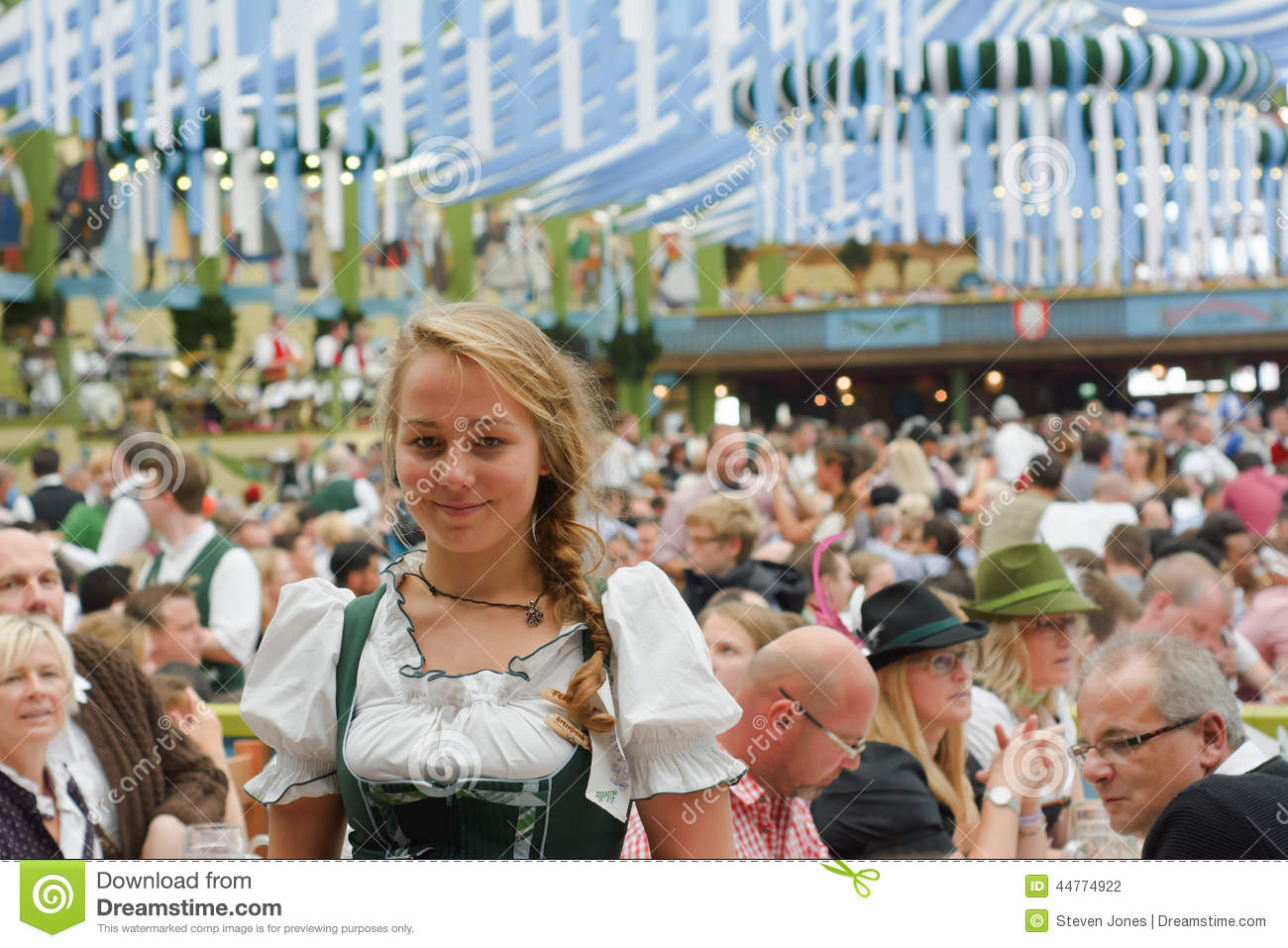 spaten octoberfest smile editorial photography  image