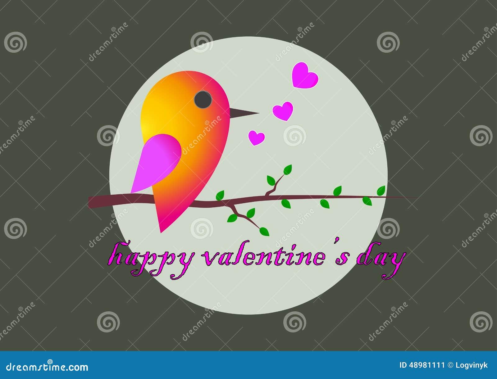 Spatz Glückwünsche Zum St. Valentinstag