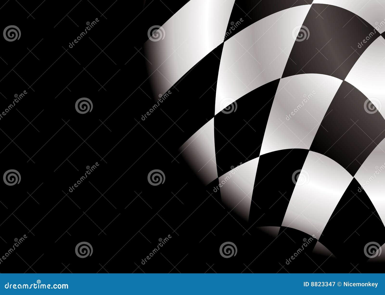 Spazio in bianco d angolo Checkered