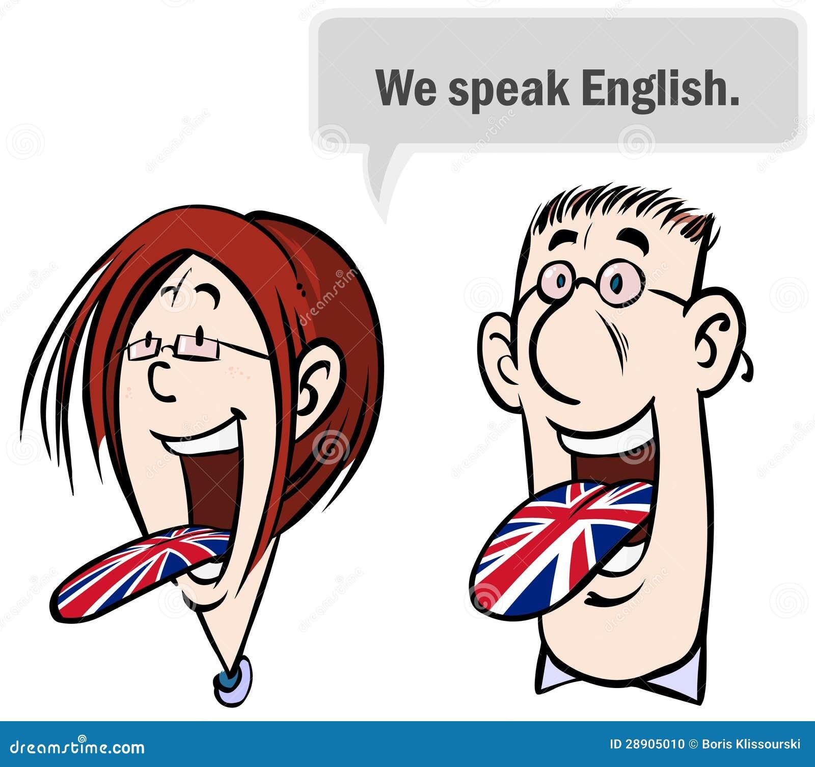 We Speak English Stock Photo Image 28905010