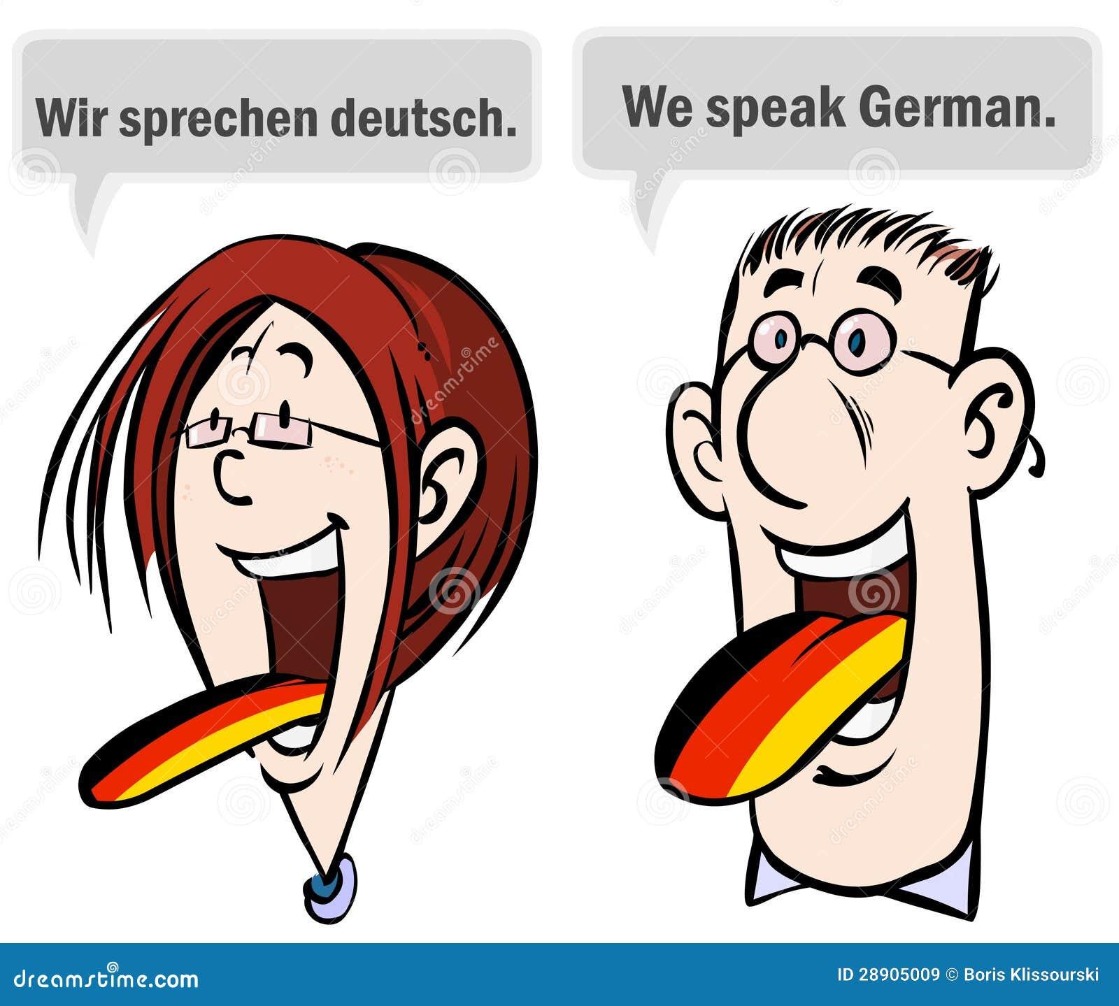 We Speak German. Royalty Free Stock Images - Image: 28905009