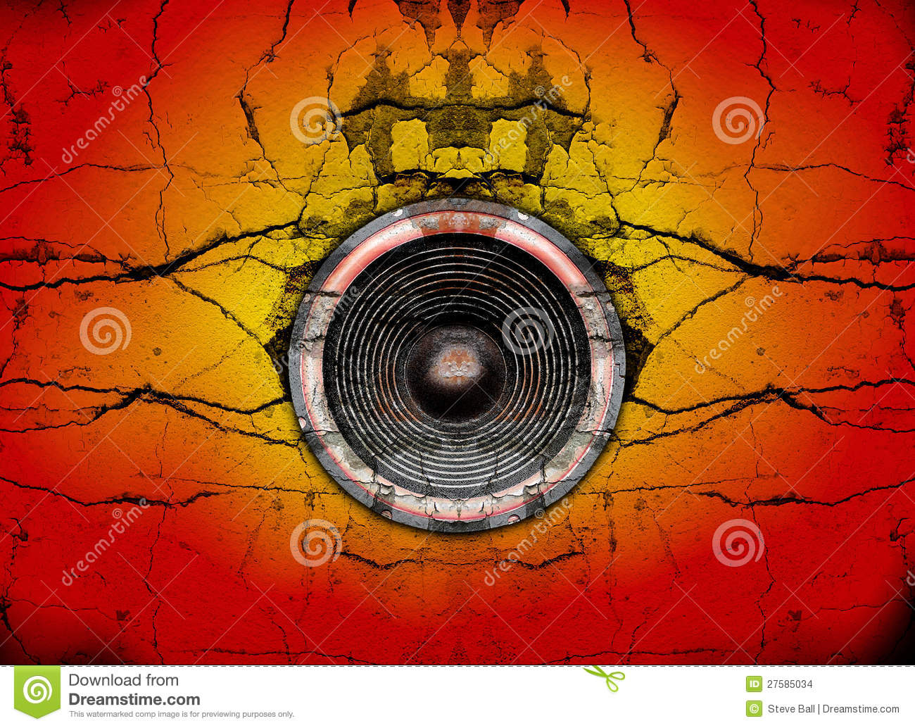 how to fix a cracked speaker