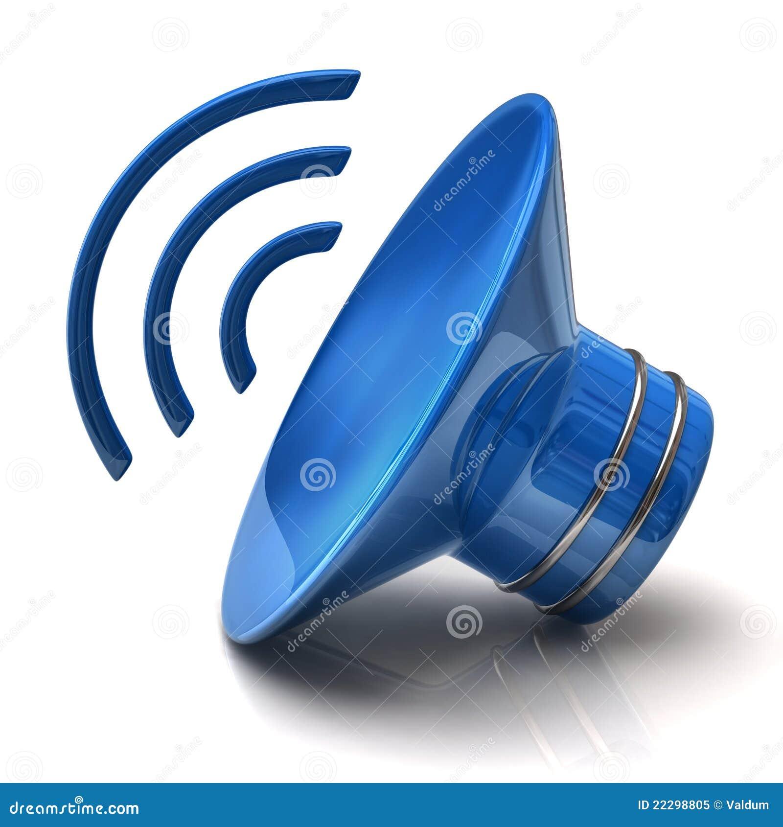Speaker Icon Royalty Free Stock Photo - Image: 22298805